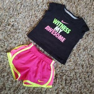 Toddler Girls Nike Short Set